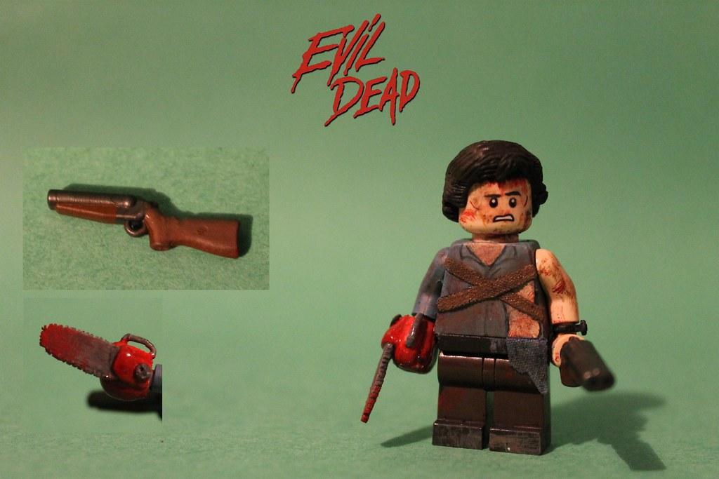 Lego Custom Evil Dead Ash Williams Quot Good Bad I M The