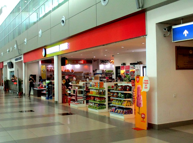 Sibu airport convenience store