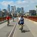 Biking Into Minneapolis