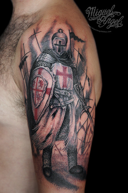 knight templar tattoo flickr photo sharing. Black Bedroom Furniture Sets. Home Design Ideas