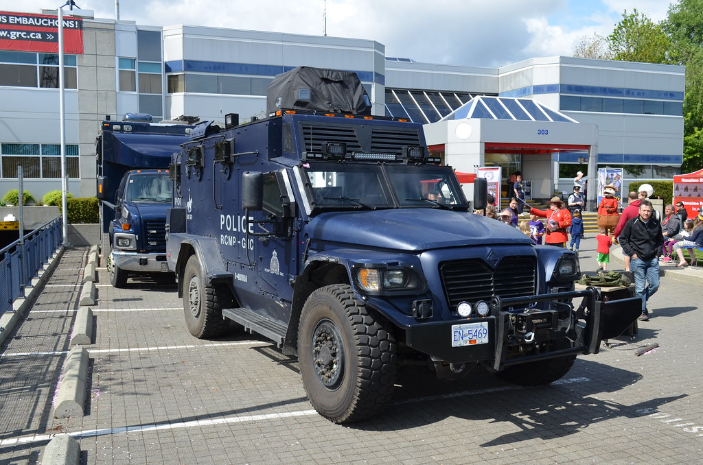 Rcmp Ert Armoured Vehicle All Photos Reserved By Canada