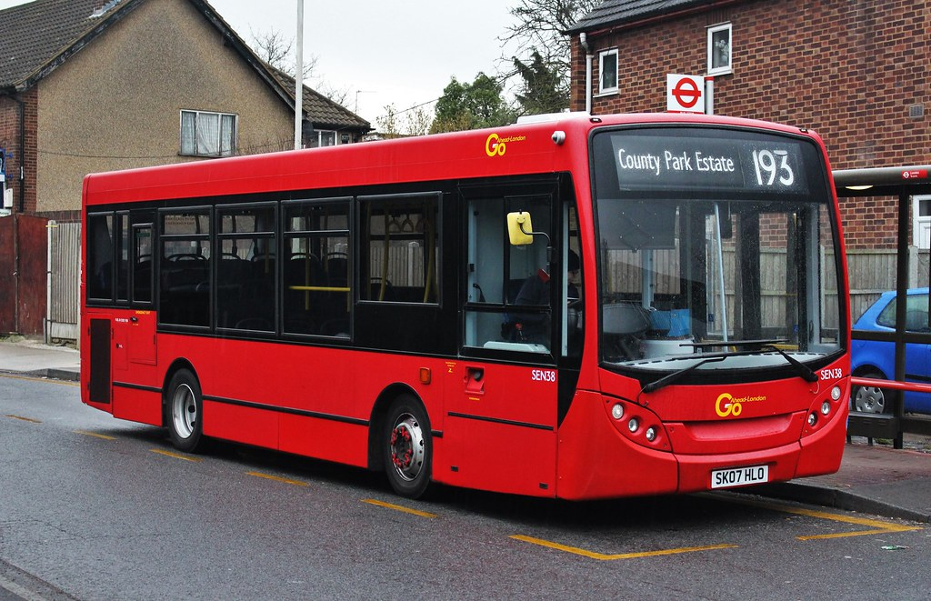 Route 193 Go Ahead London Sen38 Sk07hlo At Essex Garden