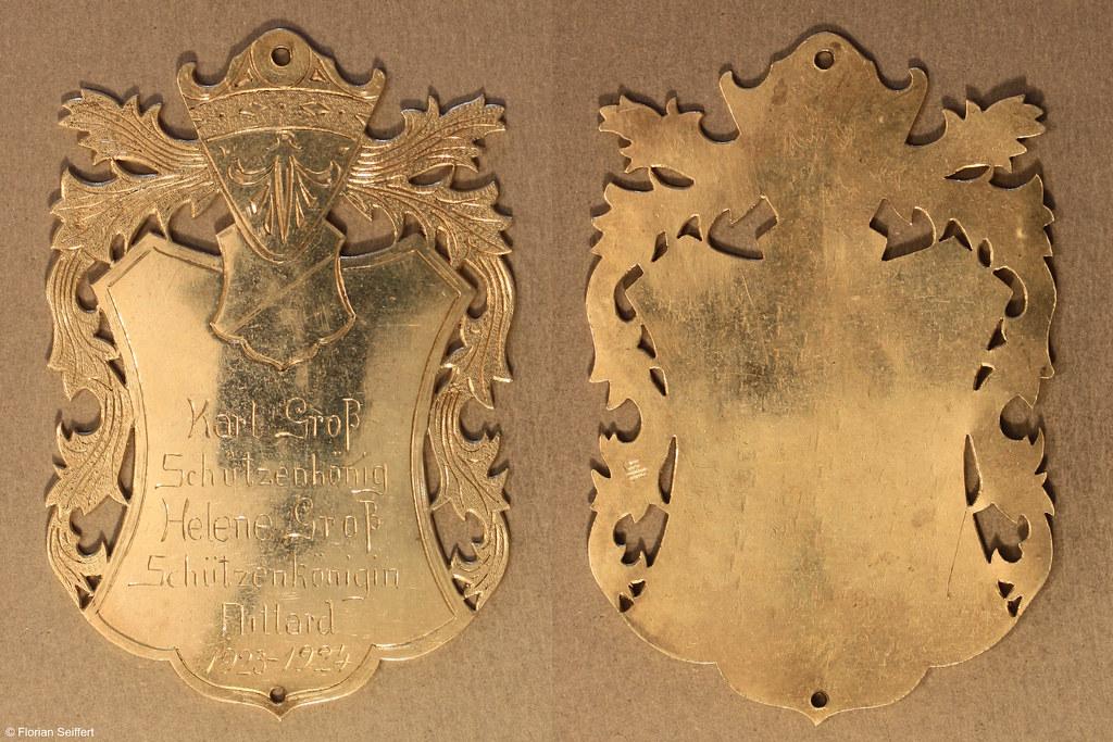 Koenigsschild Flittard von gross karl aus dem Jahr 1923