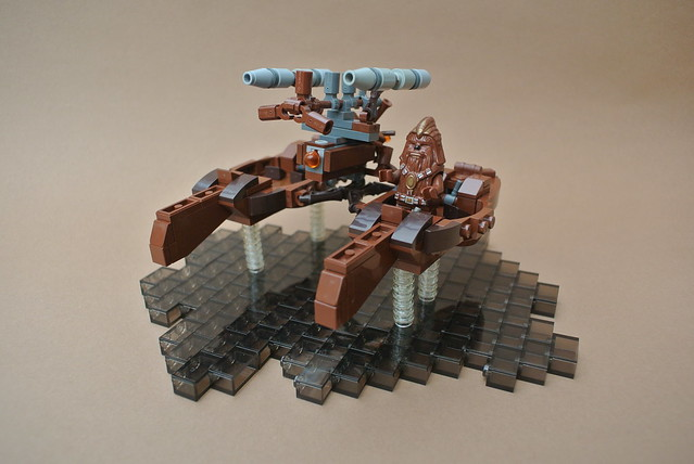 Wookiee Catamaran microfighter, by Balbo, on Flickr
