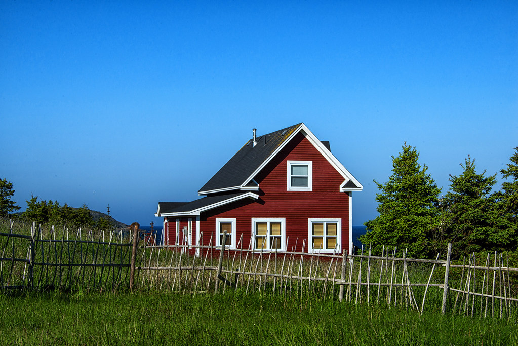 Red House In Ferryland Newfoundland I May Have Been A