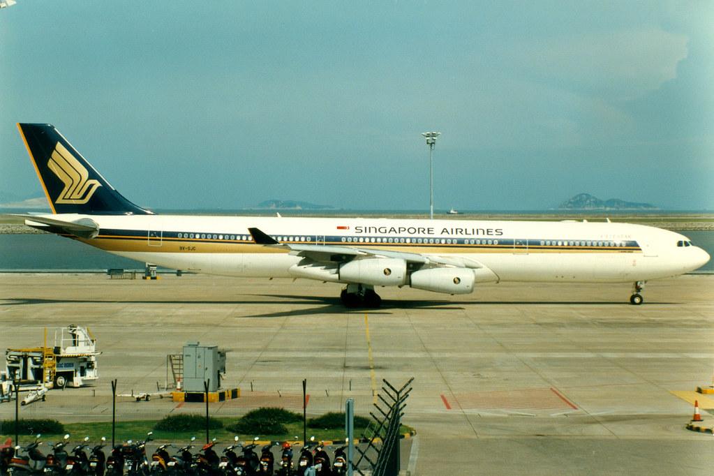 Singapore Airlines | Airbus A340-300 | 9V-SJC | Macau Inte ...