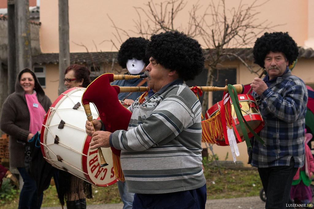 Tambours et cornemuse