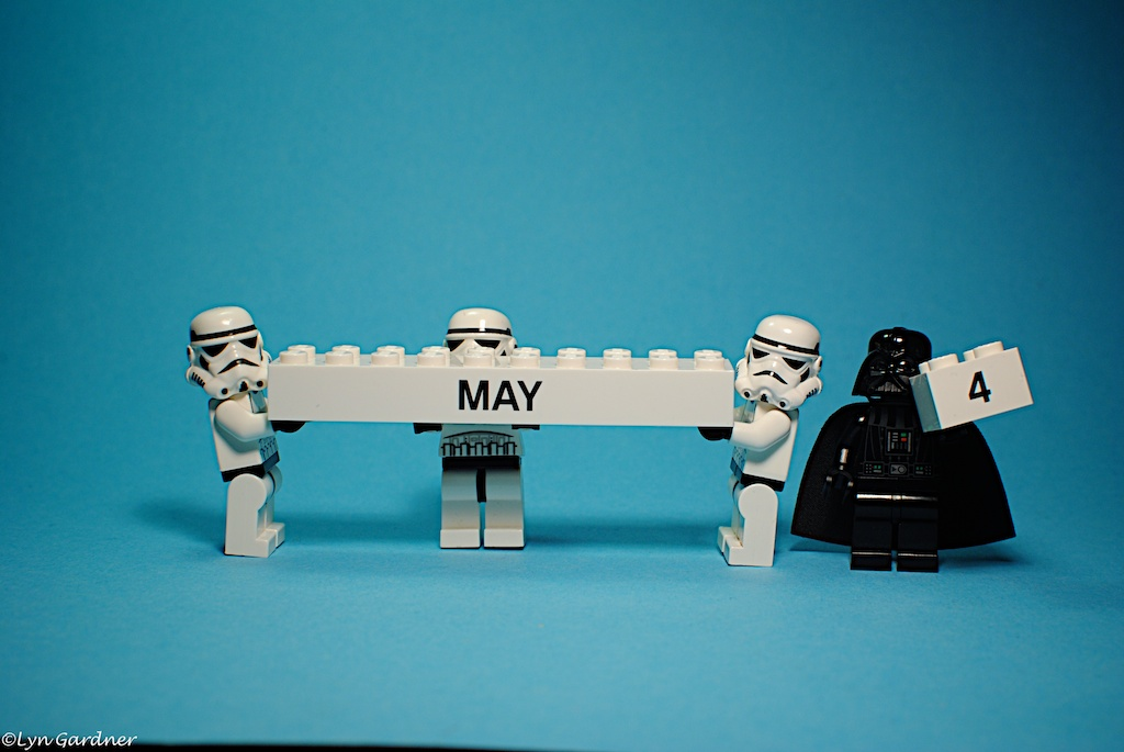 Happy star wars day everyone may the fourth be with you - 1 part 4