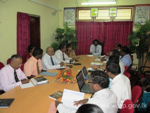 """Meeting with World Bank Representatives to review """"TSEP"""" Project"""