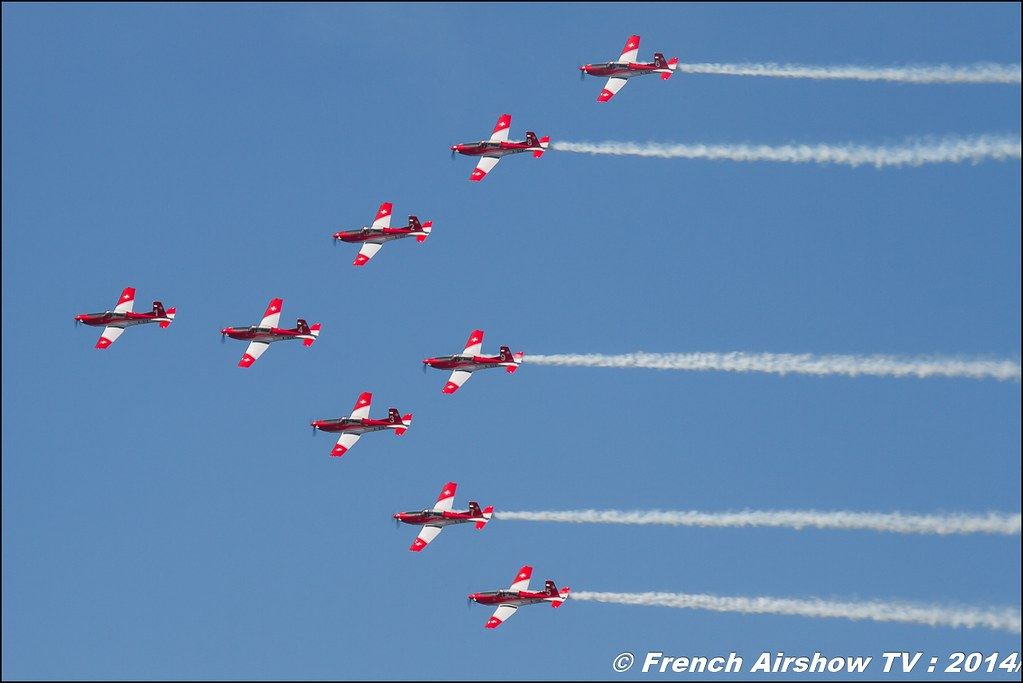 PC7 TEAM , AIR14 Payerne , suisse , weekend 1 , AIR14 airshow , meeting aerien 2014 , Airshow