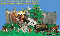 Steam Princess And The Seven Dwarfs by goldsun19731
