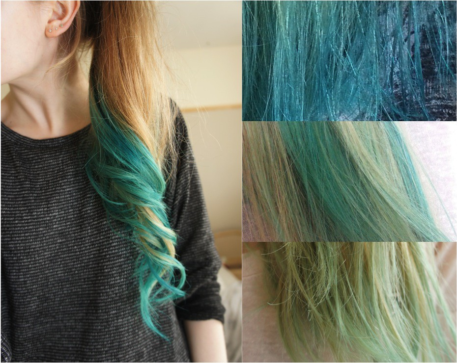 How To Dye Turquoise Hair Color