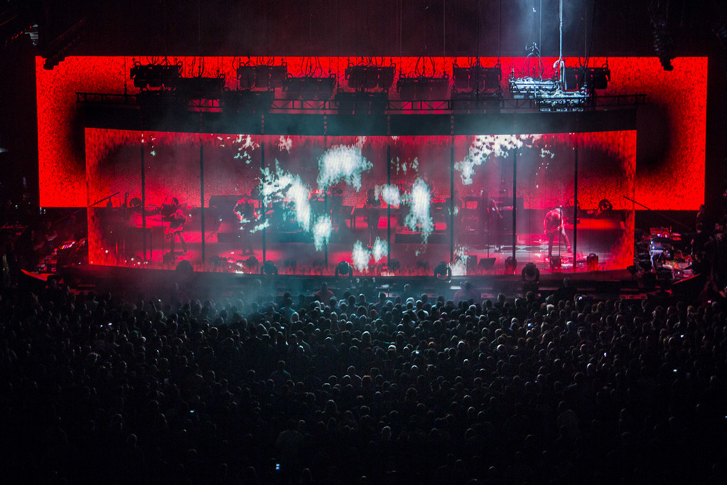 NINE INCH NAILS Present Farewell Concert Footage Film For Free ...