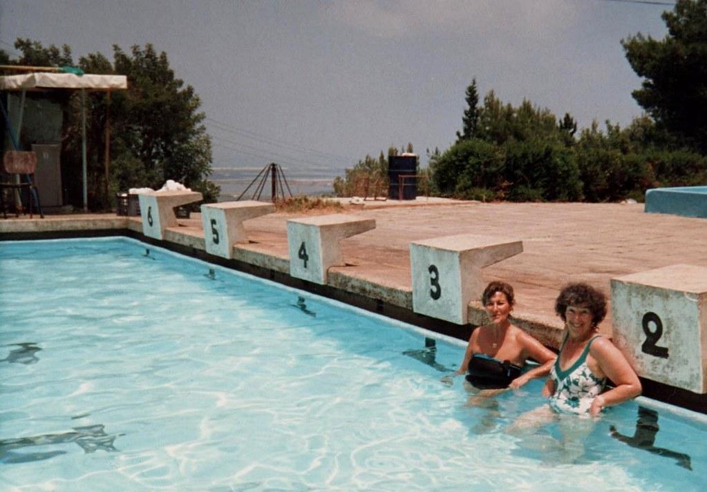 Lola And Philippa In Swimming Pool Maayan Zvi Lola