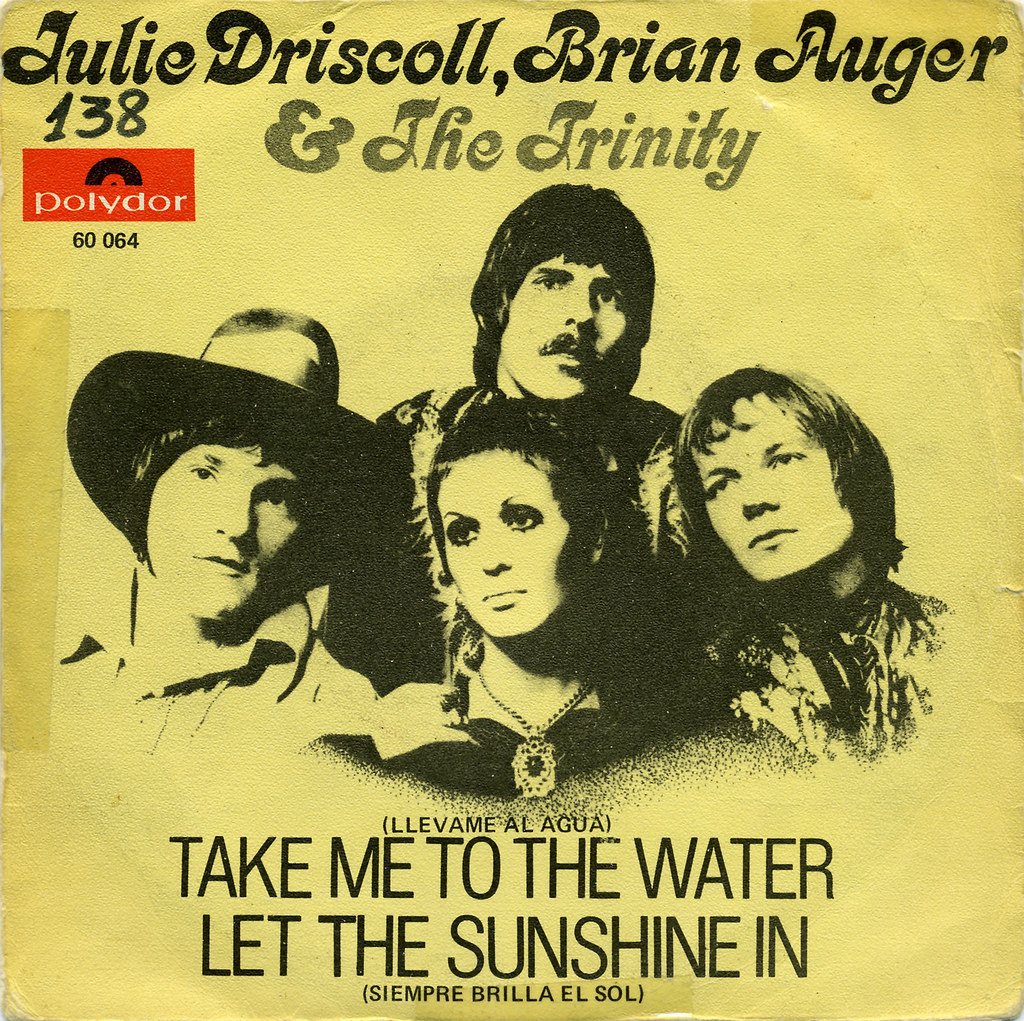 Brian Auger Julie Driscoll The Trinity Let The Sunshine In