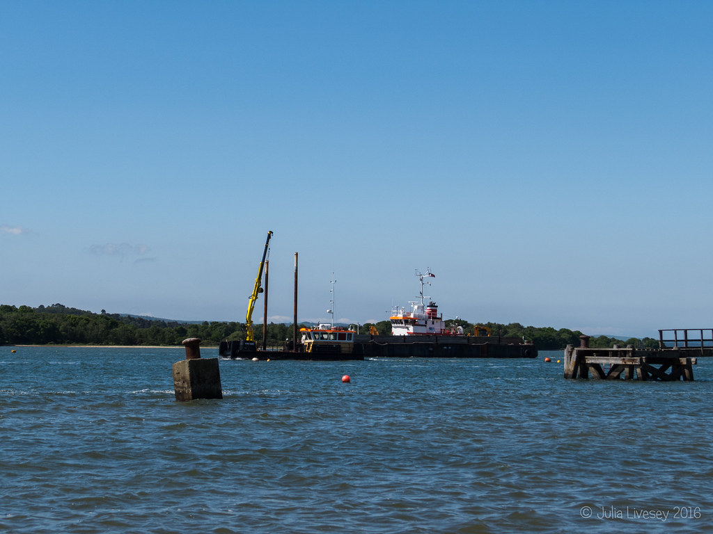 Harbour dredger