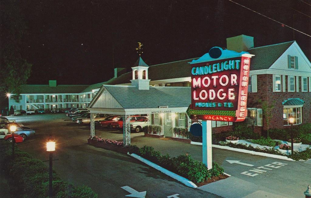 Candlelight Motor Lodge Hyannis Massachusetts 447