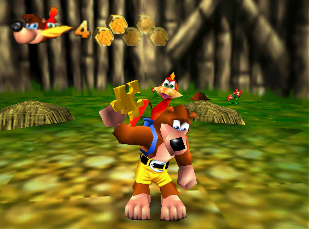 Image result for banjo kazooie jiggy get
