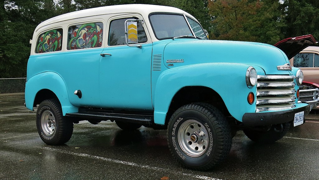 1952 Chevrolet 3100 Suburban Carryall / Custom 4X4 | Flickr