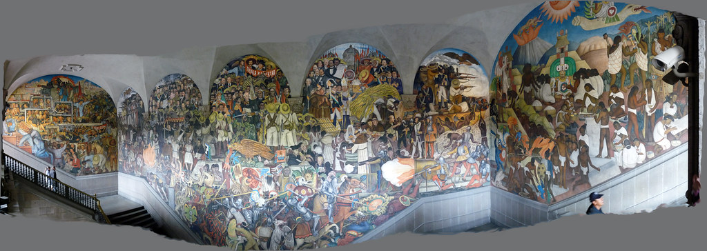 diego rivera s history of mexico mural diego rivera s hist flickr