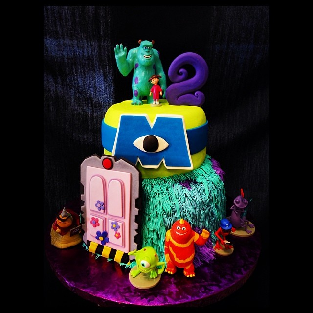 Monsters Inc Cake Pan