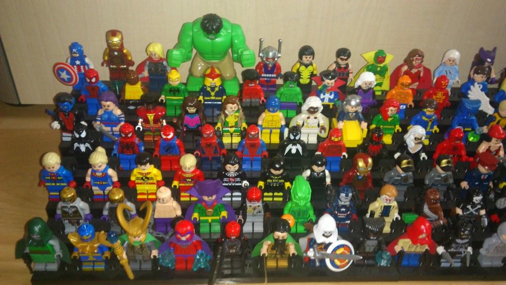 6 Malvorlagen Lego Superheroes: Marvel Superhero Collection