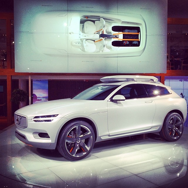 Stunning Crossover Concept: #Volvo XC Coupé Concept Car @ …   Flickr