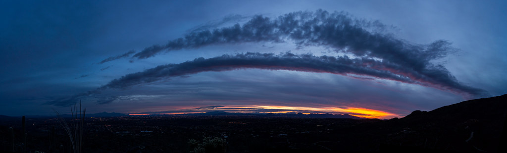 1403 Sunset Panorama