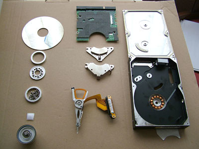 Data recovery damaged platters