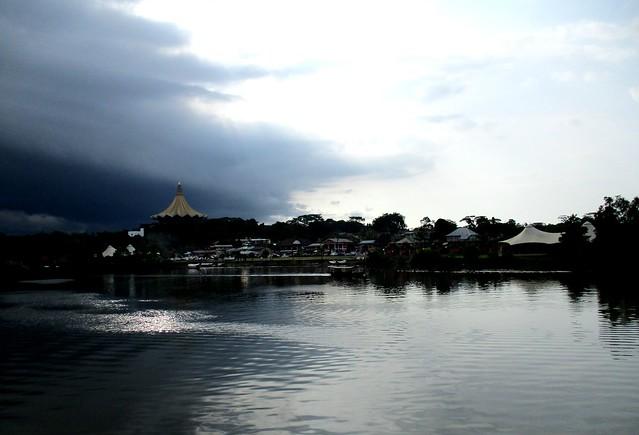 Grand Margherita Sarawak River view
