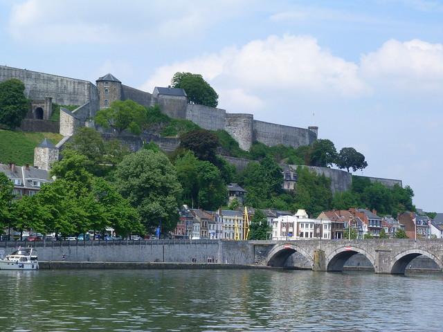 Namur, capital de Valonia (Bélgica)