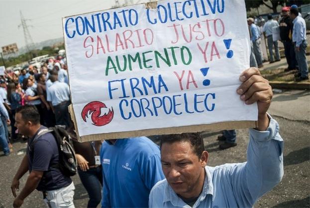 Trabajadores de CORPOELEC en Ciudad Guayana son despedidos masivamente por firmar para el revocatori...