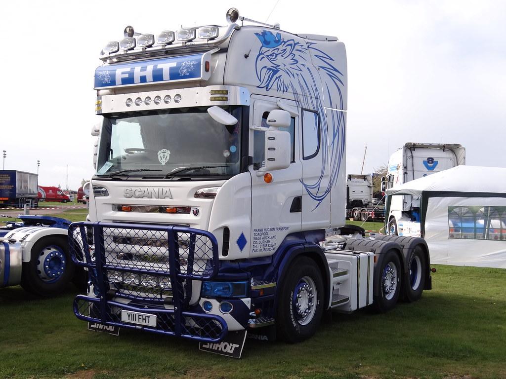 Bien connu Frank Hudson Transport - Scania R620 V8 Topline (Y111 FHT)… | Flickr XM72