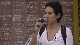 Cosentini - Luciana Santillán. (Foto: Prensa Jujuy).
