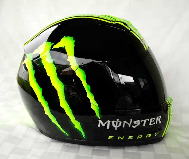 Custom writing companies motorcycle helmet