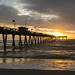 Sunset at the Pier Venice Island FL 2013 by Jim Drews 20130118-0B4A0123 USF Original