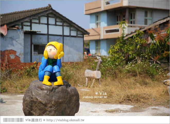 【台南後壁幾米】後壁土溝農村美術館‧農村就是美術館!幾米作品可愛現縱~31