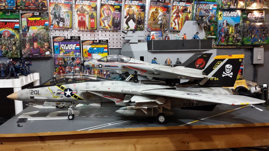 F 14 Jsi 1 18 Scale Size Comparison To Gi Joe Skystriker