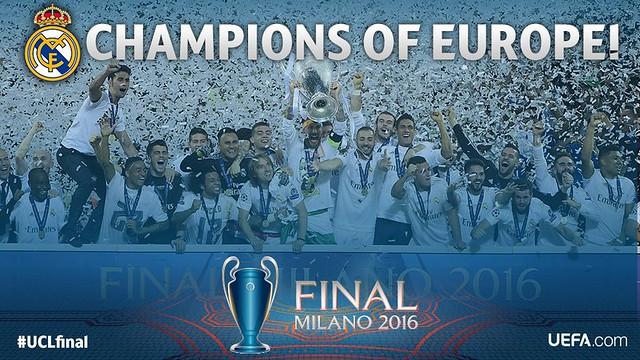 El Real Madrid consigue su 5a Champions League