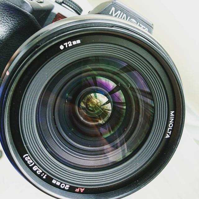 Minolta AF 20mm f2.8 美能達最強廣角定焦鏡