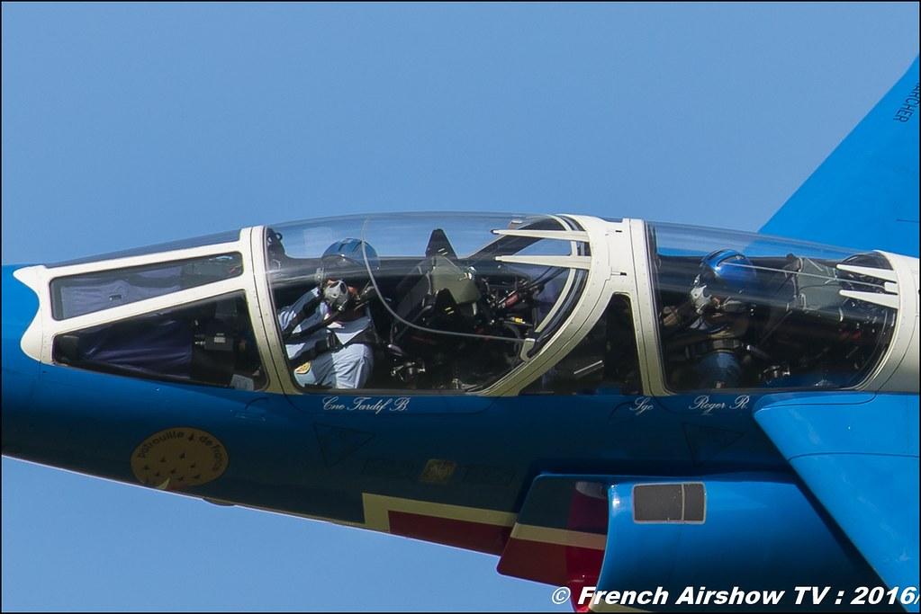 Patrouille de France , Alphajet ,Meeting de l'air BA-702 Avord , Meeting Aerien Avord 2016 , FOSA , Armée de l'air , Canon Reflex , EOS System
