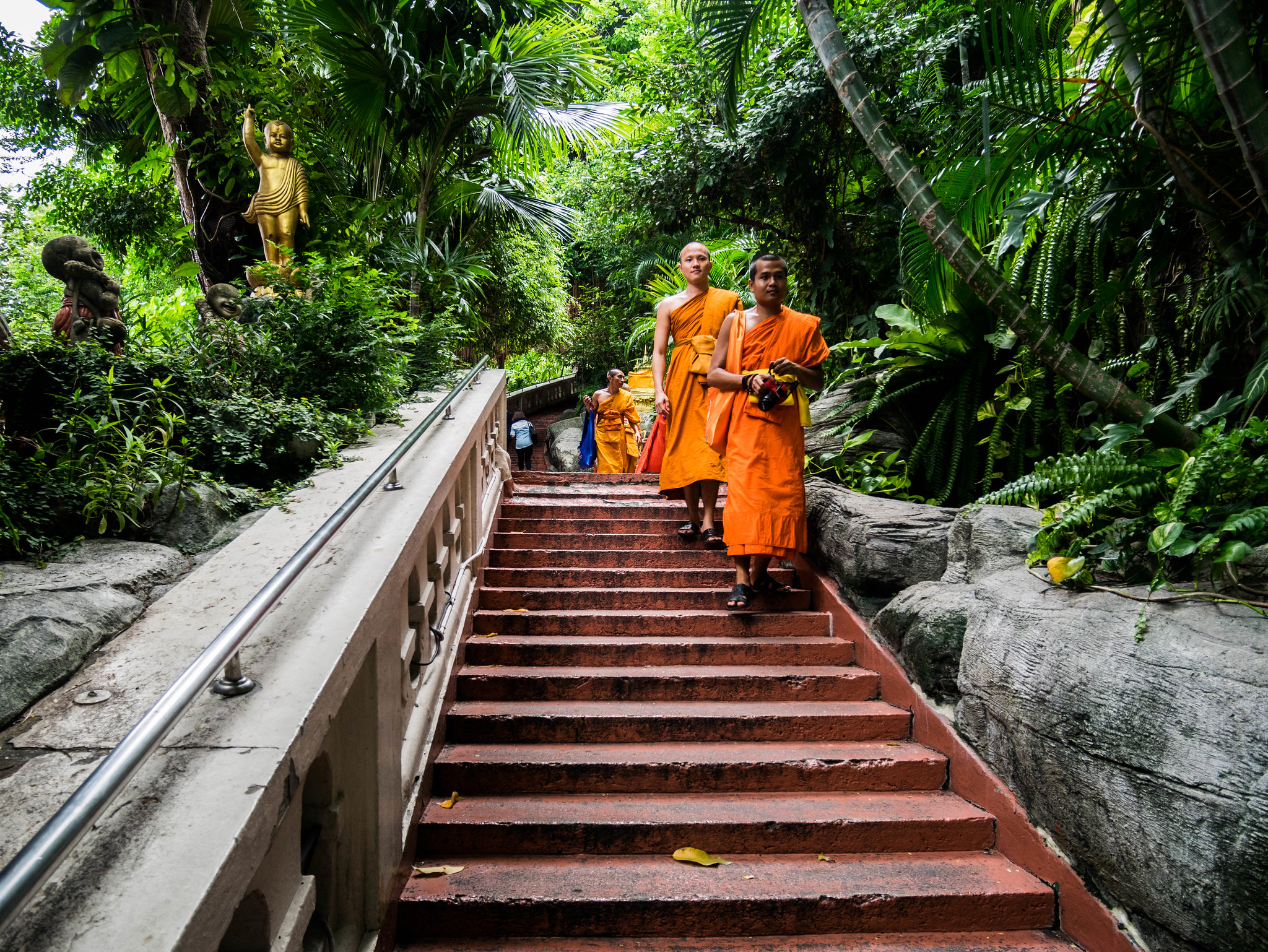 Monk in Bangkok