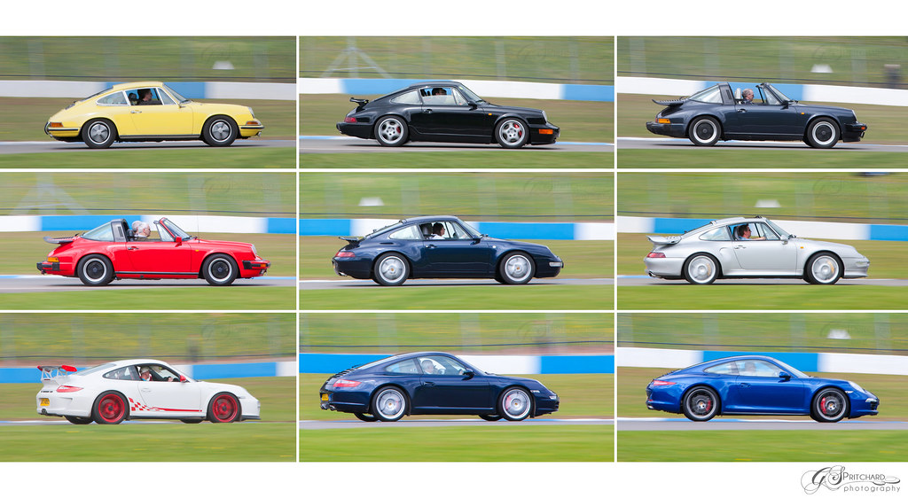 Porsche 911 50 Years Of Evolution Porsche Parade Lap
