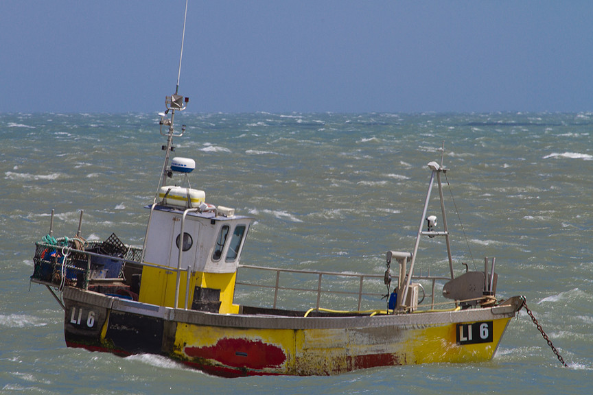 Selsey fishing boat red blue yellow this fishing boat for Free fishing boats