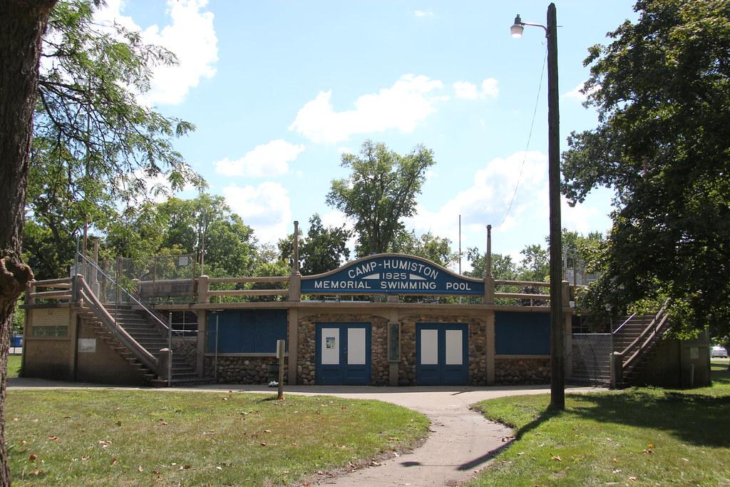 Camp Humiston Memorial Swimming Pool Pontiac