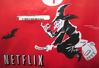 Netflix mailer packaging: October 2013