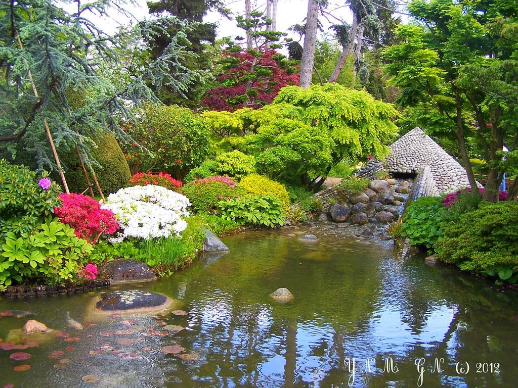 Japanese garden albert kahn paris vase des 1000 fleurs m - Jardin japonais boulogne billancourt ...