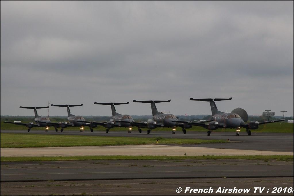 Patrouille xingu , Embraer EMB-121 Xingu ,Meeting de l'air BA-702 Avord , Meeting Aerien Avord 2016 , FOSA , Armée de l'air , Canon Reflex , EOS System