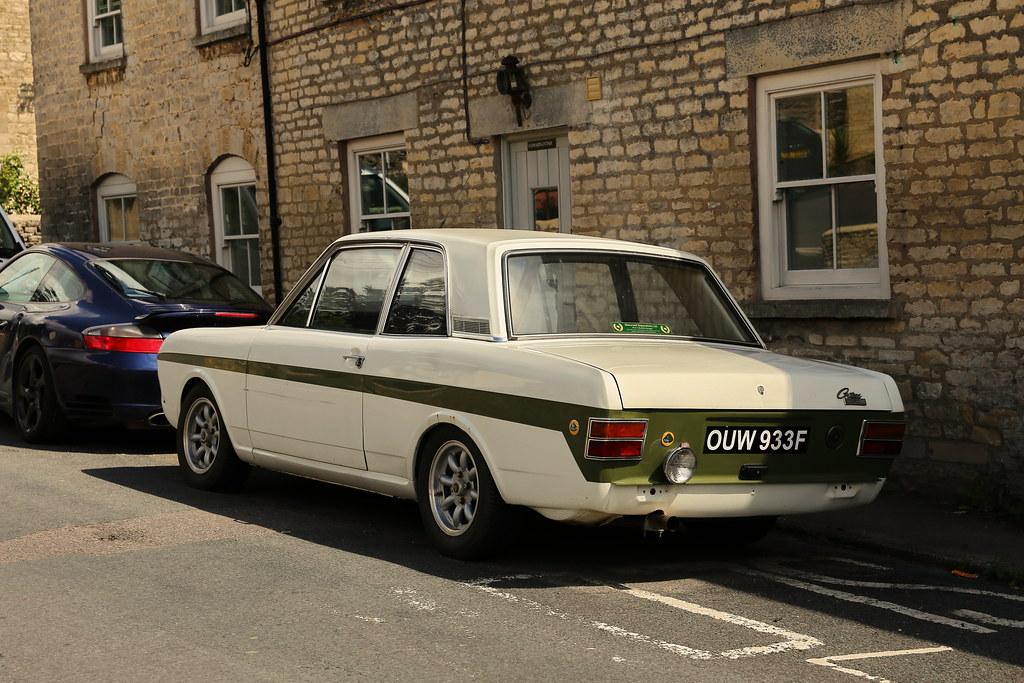 Ford Cortina Mk2 Twin Cam Lotus Minchinhampton Mark