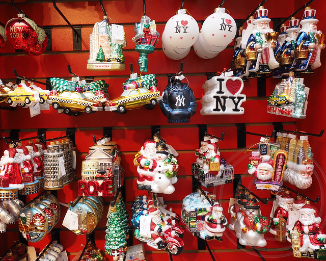 Christmas Tree Ornaments, The Bryant Park Holiday Shops ...